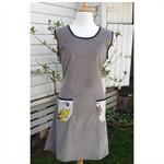 Winters Corduroy Dress Tunic Dress Pocket Dress